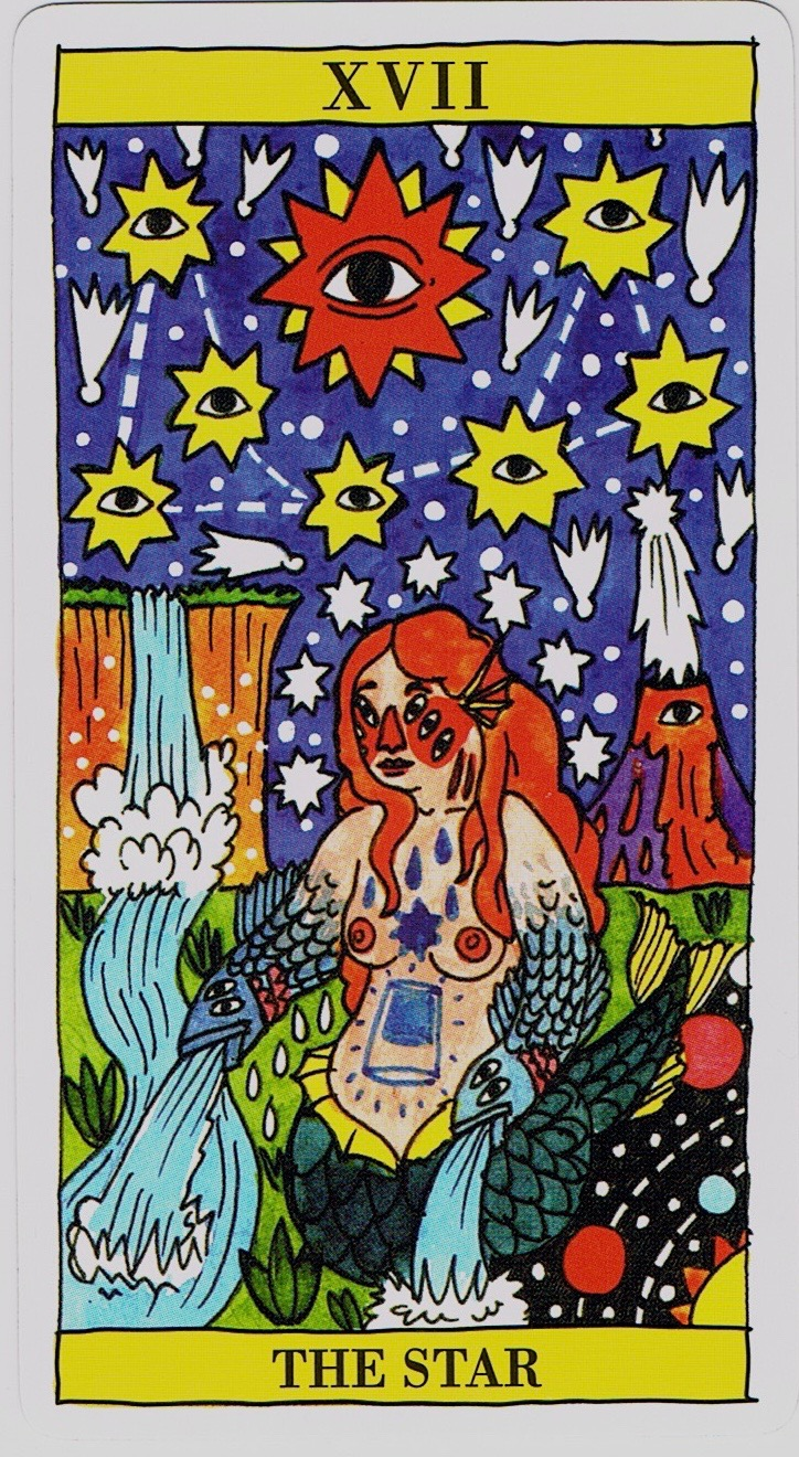 All Eyes on this Deck: Tarot del Fuego – Present Day Tarot Blog