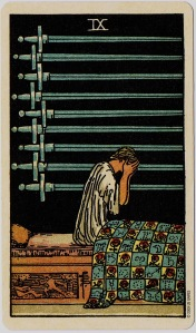 9 of Swords Colman Smith