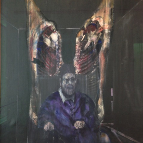 Francis Bacon Figure With Meat Hierophant