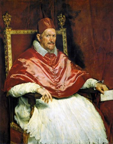 Velazquez Pope Innocente Tarot