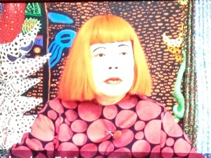 Yayoi Kusama on screen