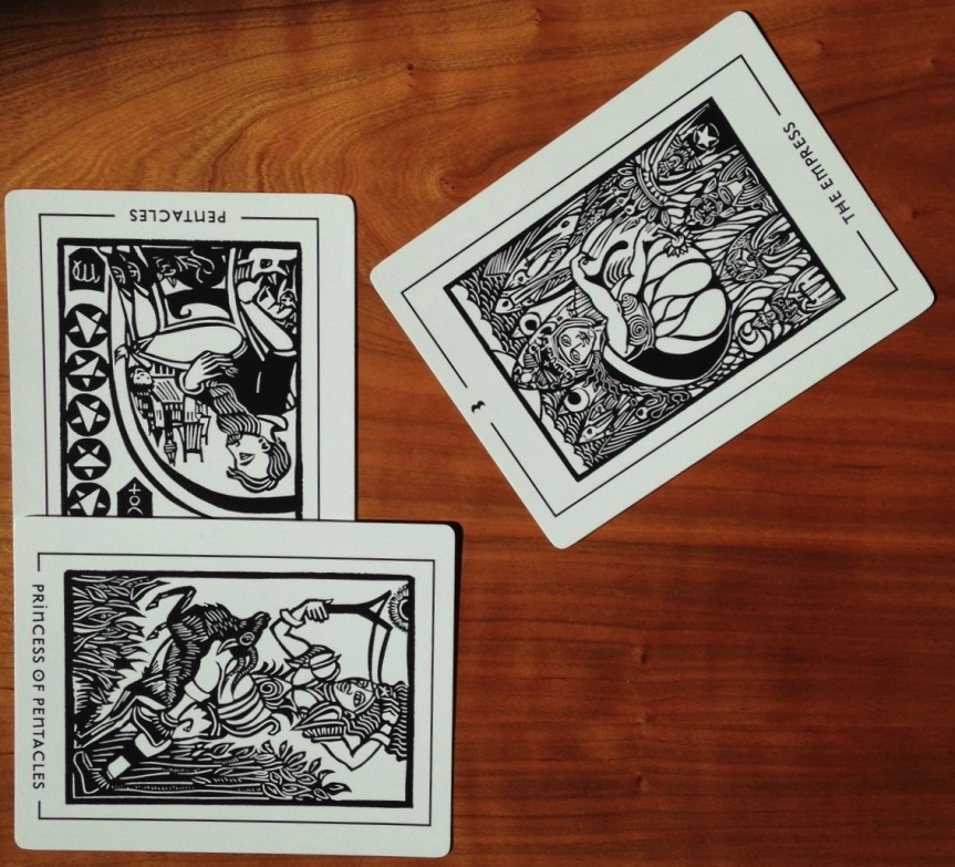 Present Day Tarot reading workout