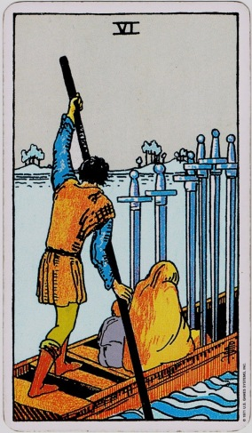 6 of Swords RWS
