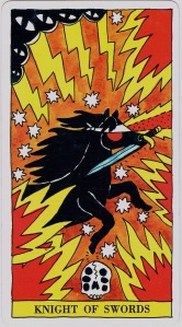 Tarot del Fuego Knight of Swords