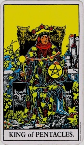 King of Pentacles RWS
