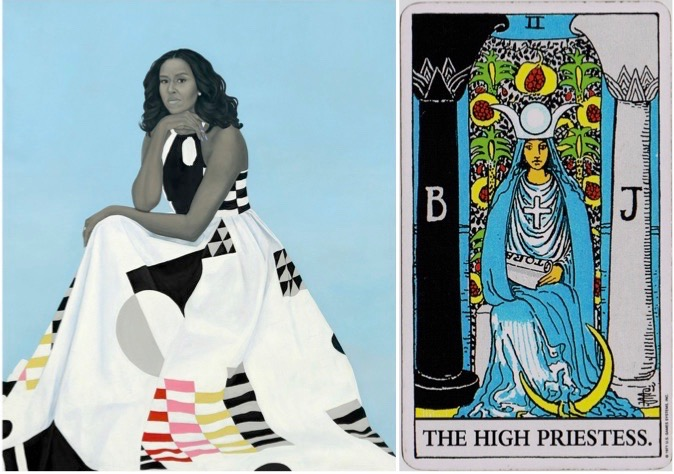 Michelle Obama High Priestess