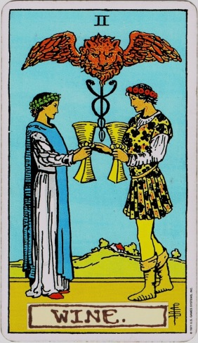 Present Day Tarot 2 of Cups