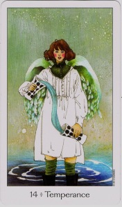 Temperance Dreaming Way Tarot