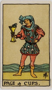 Page of Cups – Present Day Tarot Blog